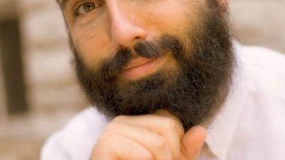 Click photo to download. Caption: Rabbi Hershey Novack, campus rabbi at Chabad at Washington University in St. Louis. Jewish college students can look up to parents as their heroes, Novack writes. Credit: Courtesy Rabbi Hershey Novack.