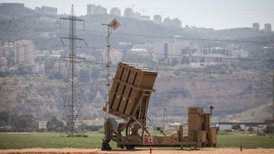 A view of an Iron Dome anti-missile battery near the northern Israeli town of Haifa. Photo by Avishag Shaar Yashuv/ Flash90.