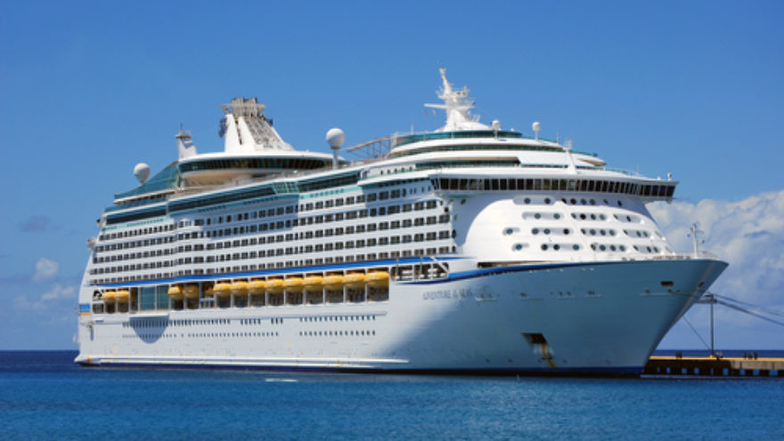 The Royal Caribbean Adventure of the Seas (pictured) is offering a trip out of Miami for either three or seven nights, organized by the Passover Kosher Cruises company. Credit: Totallyjewishtravel.com.