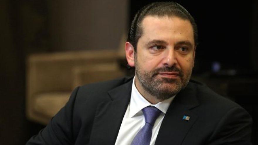 Lebanese Prime Minister Saad Hariri. Credit: Kremlin.ru via Wikimedia Commons.