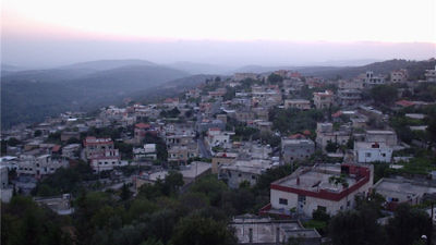 """The town of Zweitina in Wadi al-Nassara, which means """"Valley of Christians,"""" in western Syria. Credit: Anas Salloum via Wikimedia Commons."""