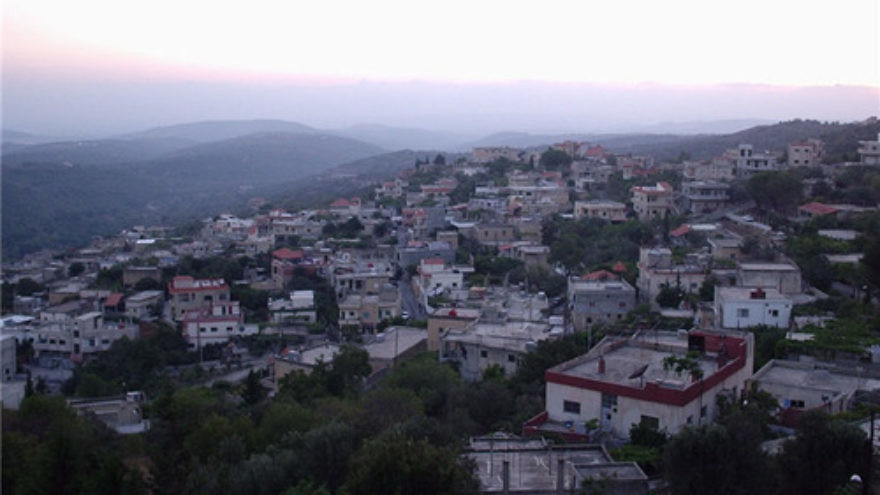 "Click photo to download. Caption: The town of Zweitina in Wadi al-Nassara, which means ""Valley of Christians,""  in western Syria. Credit: Anas Salloum via Wikimedia Commons."