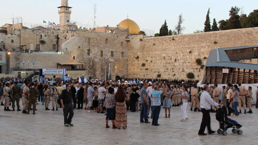UNESCO resolutions have denied Jewish historical ties to the Western Wall (pictured) and Temple Mount in Jerusalem. Credit: Larisa Sklar Giller via Wikimedia Commons.