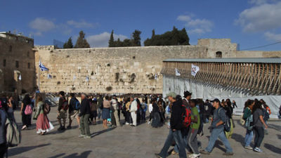 The Western Wall in Jerusalem. Credit: Emmanuel DYAN via Wikimedia Commons.