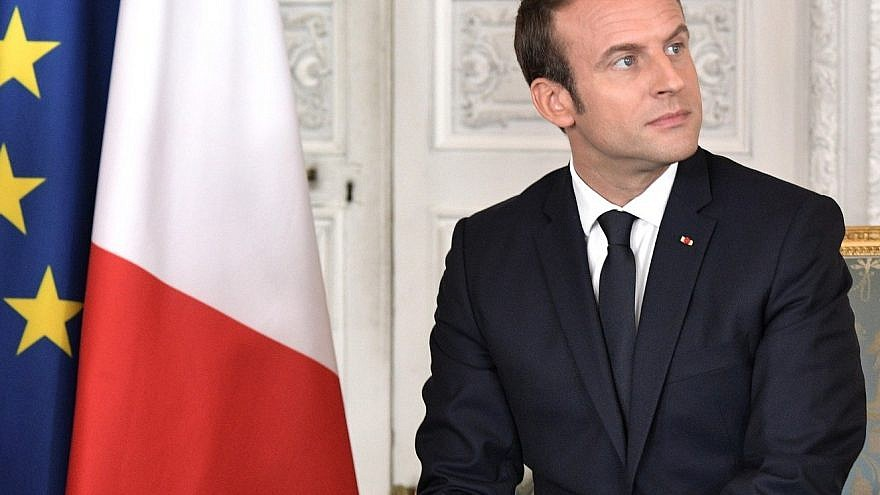 French President Emmanuel Macron. Credit: Kremlin.ru via Wikimedia Commons.