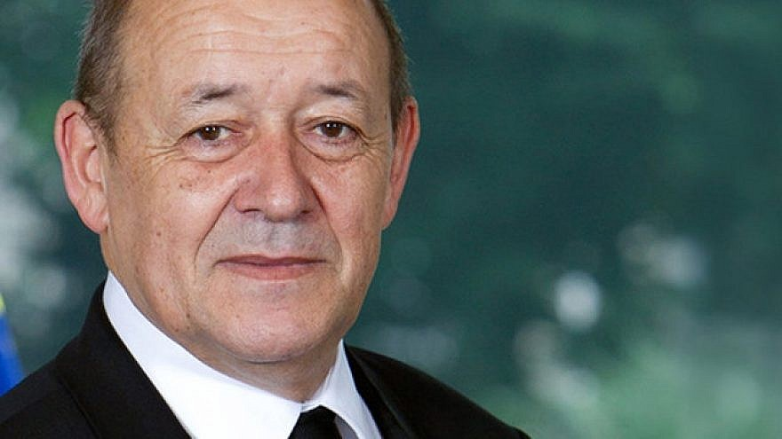 French Foreign Minister Jean-Yves Le Drian. Credit: France Diplomatie.