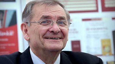 Sandor Lezsak, deputy speaker of the Hungarian Parliament. Credit: Thaler Tamas via Wikimedia Commons.