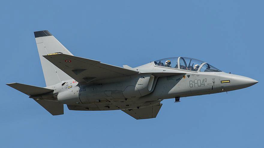 An Italian M-346 plane. Credit: Gian Marco Anzellotti via Wikimedia Commons.