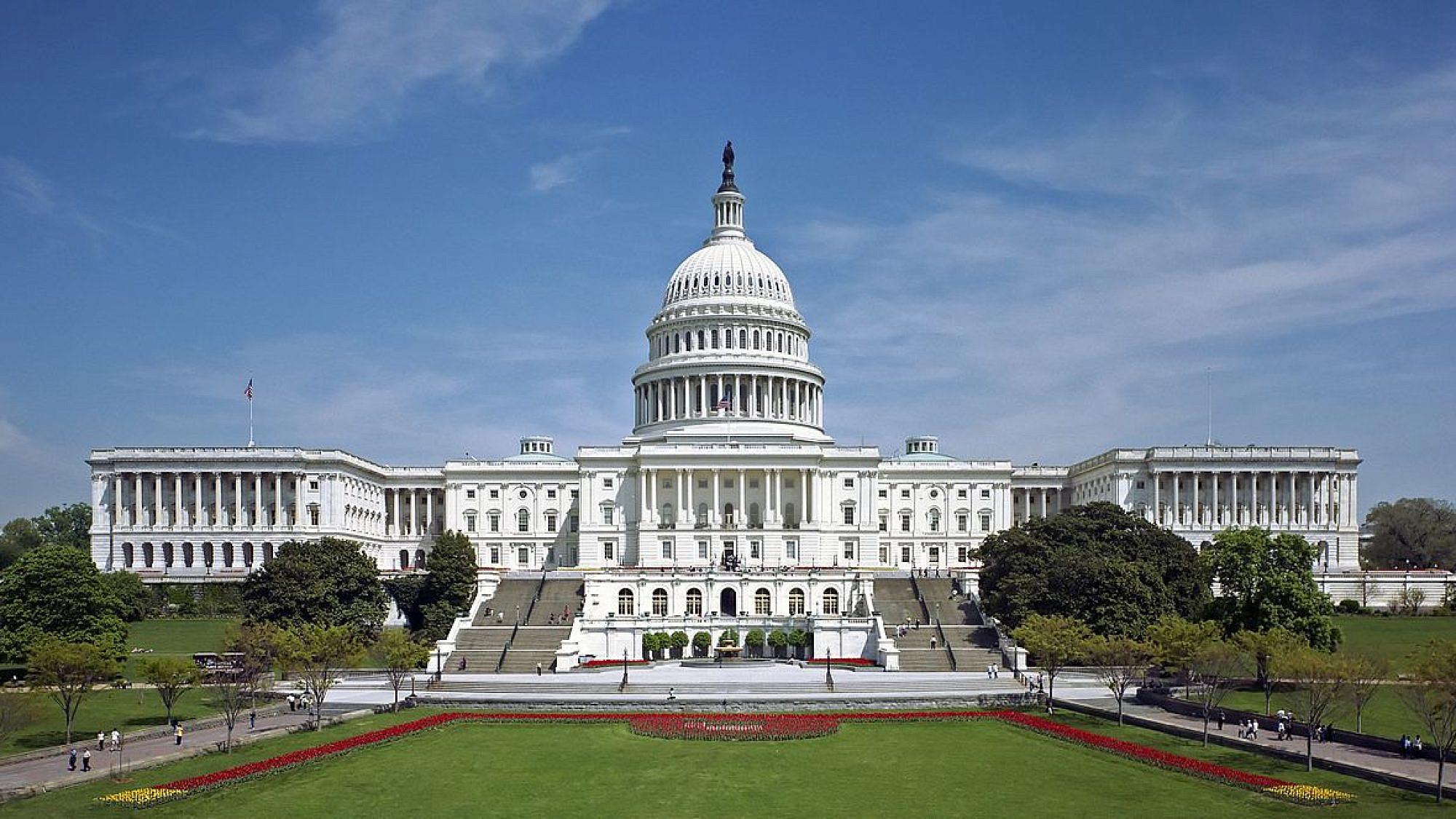 The U.S. Capitol building. Wikimedia Commons via Martin Falbisoner.