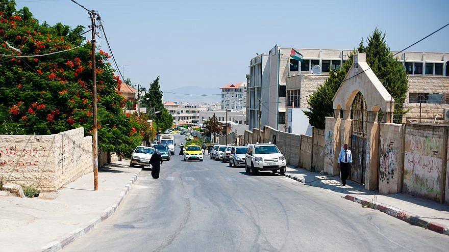 A street in Jenin. Credit: Wikimedia Commons.