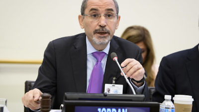 Jordan's Foreign Minister Ayman Safadi. Credit: U.N. Photo/Manuel Elias.