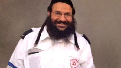 Israeli father of six Rabbi Raziel Shevach, who was killed in a drive-by shooting terror attack earlier this month. Credit: American Friends of Magen David Adom.