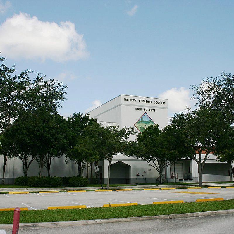 Marjory Stoneman Douglas High School in 2008. Credit: Wikimedia Commons.