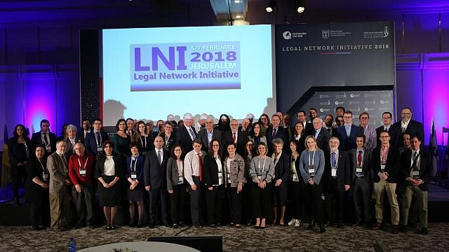 Attendees of the 2018 Legal Network Initiative. Credit: Courtesy International Legal Forum.