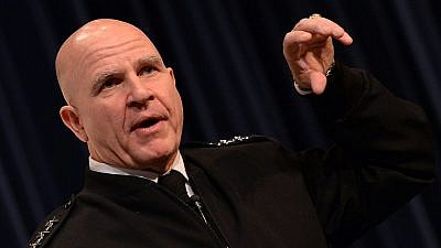File Photo Lt.-Gen. H.R. McMaster. U.S. Navy photo by Chief Mass Communication Specialist James E. Foehl/Wikimedia Commons.