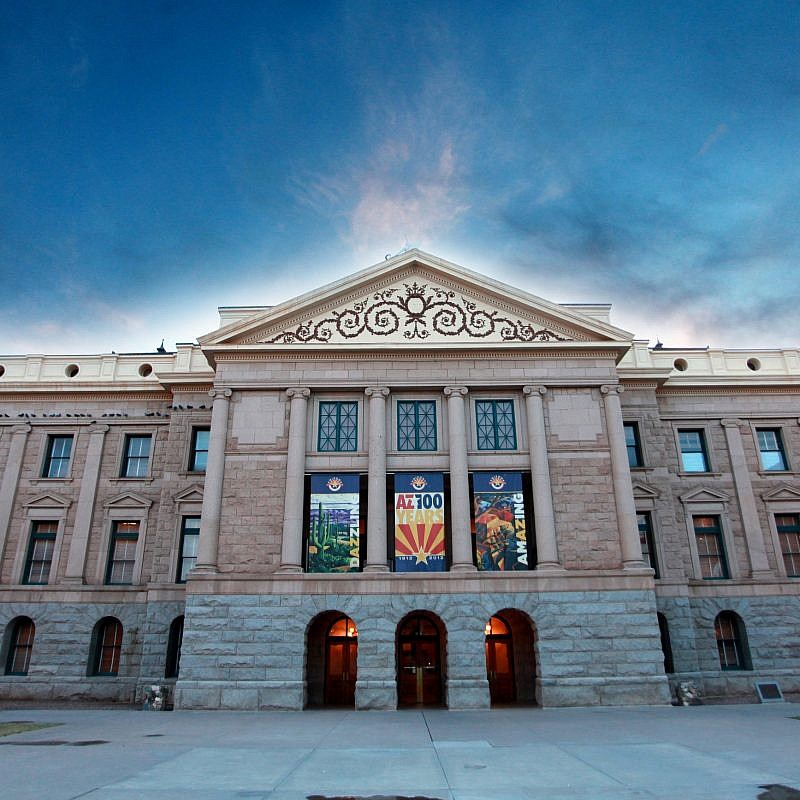 The Arizona Capitol Museum building in Phoenix. Credit: Gage Skidmore via Wikimedia Commons.