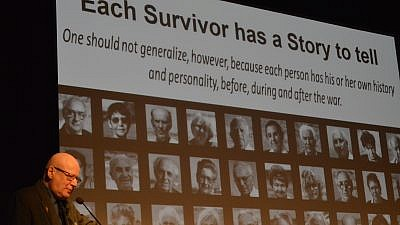 Natan Kellermann, a leading researcher on transgenerational trauma and the Holocaust. Credit: Jewish Family Service of Los Angeles.