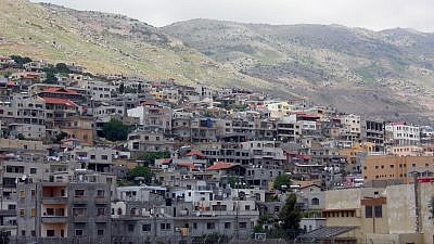 The Druze town of Majdal Shams in the Golan Heights. Credit: Wilson44691 via Wikimedia Commons.