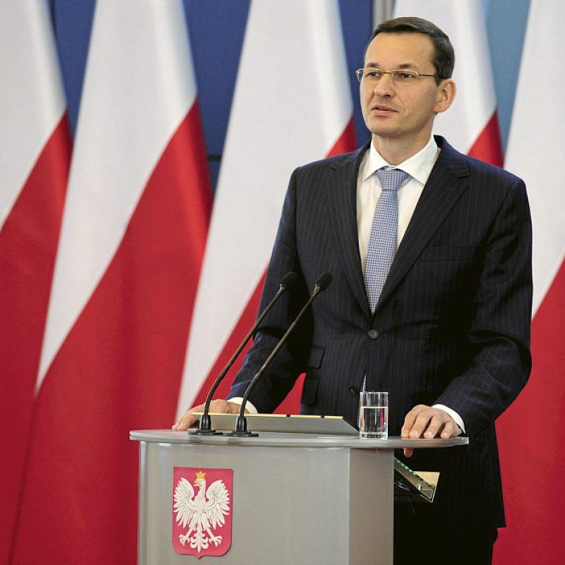 Polish Prime Minister Mateusz Morawiecki. Credit: Flickr.