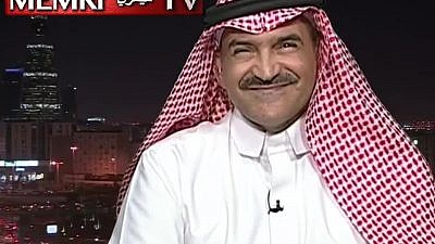 Saudi journalist Mohamed Al-Suhaimi on Saudi MBC TV (Credit: MEMRI)