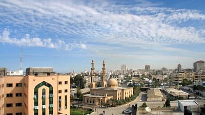 A view of the Gaza Strip. Credit: Wikimedia Commons.