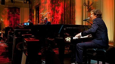 Paul McCartney (right) performs at the White House in 2010. Credit: White House photo by Pete Souza.