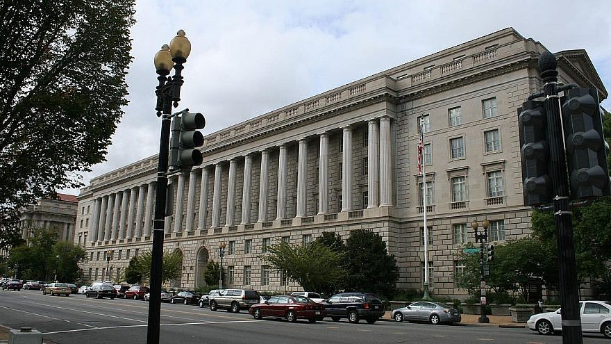 The Internal Revenue Service building in Washington, DC. Credit: Wikimedia Commons.