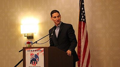 Ohio Treasurer Josh Mandel. Credit: Cleveland Jewish News/Michael C. Butz.