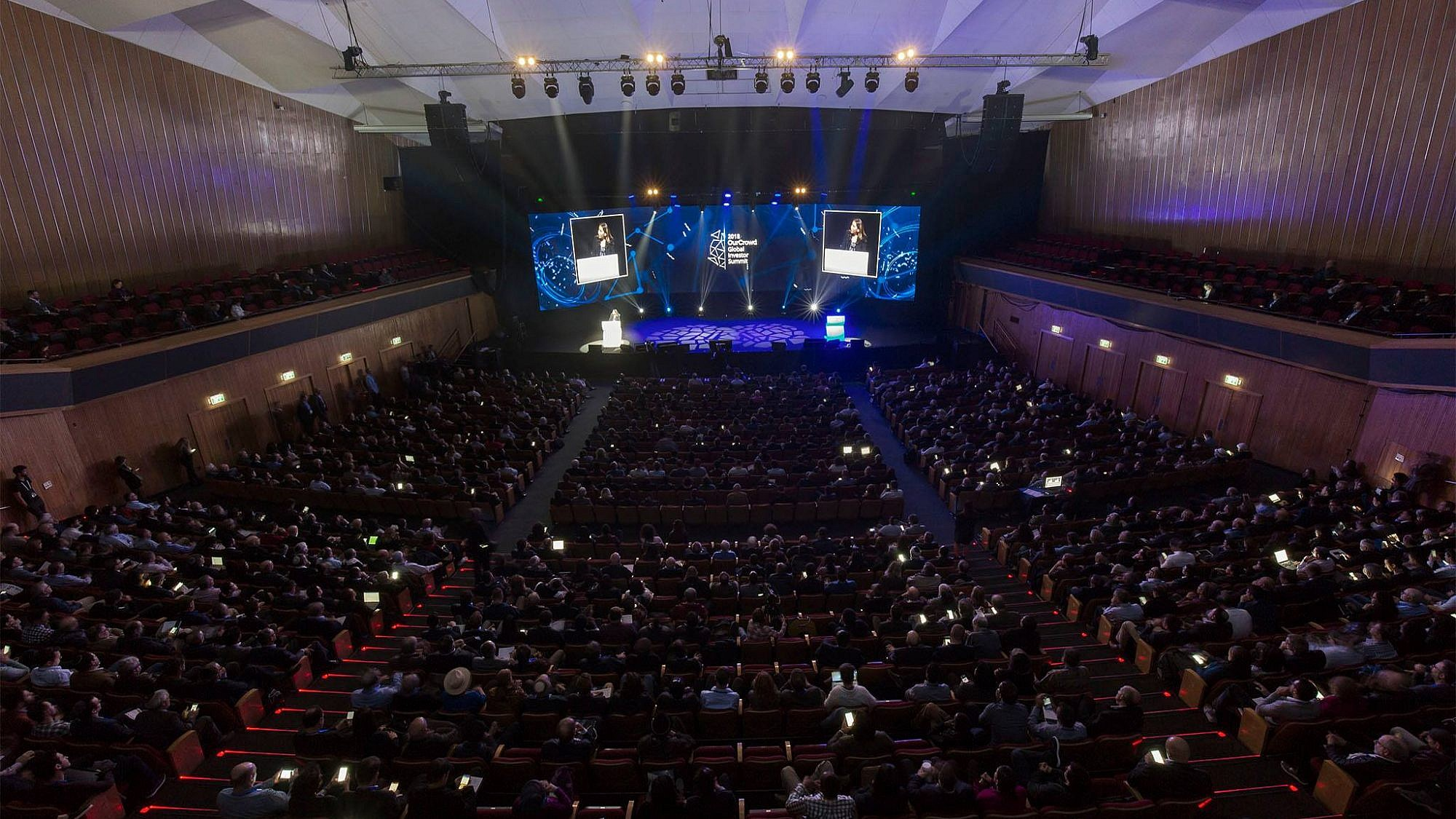 The 2018 OurCrowd Global Investor Summit in Jerusalem. Credit: Facebook.