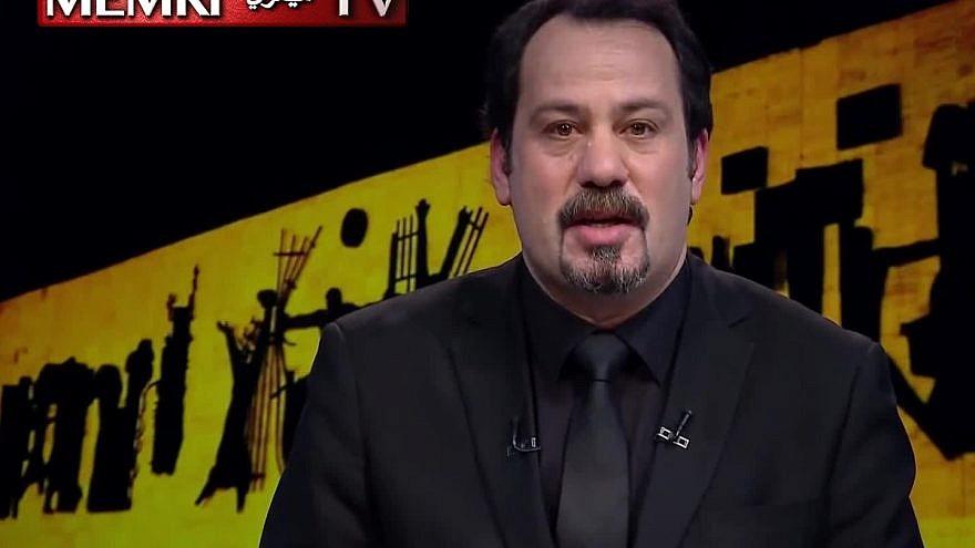 Iraq TV host Anwar Al-Hamadani (Credit: MEMRI)