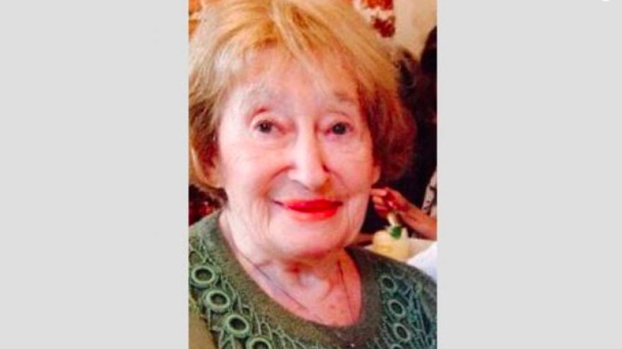 Holocaust survivor Mireille Knoll, 85, who was found murdered last Friday in her Paris apartment. Credit: Screenshot.