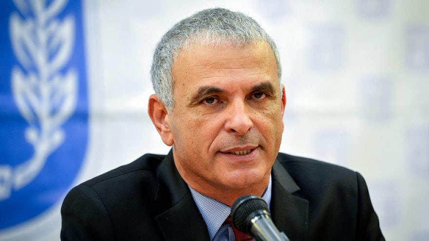 Israeli Finance Minister Moshe Kahlon speaks during a press conference at the Ministry of Finance in Tel Aviv on Jan. 4, 2018. Photo by Flash90
