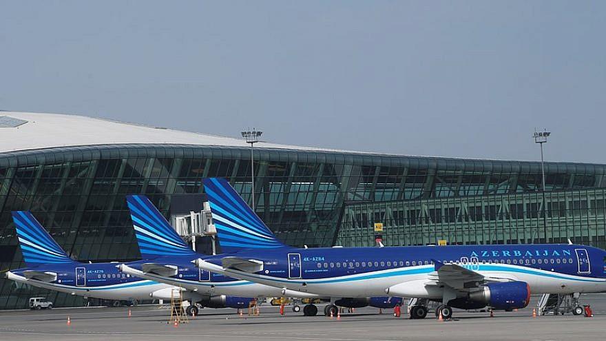 Heydar Aliyev International Airport in Baku, Azerbaijan. Credit: Wikimedia Commons.