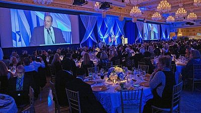 "More than 500 evangelical Christians and Jews from across North America gathered at Mar-a-Lago on March 25 for the ""Together in Fellowship"" gala. Credit: Capehart Photography."
