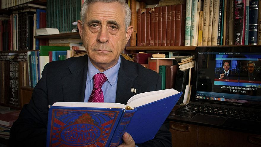 Bar-Ilan University lecturer and scholar of Arabic culture Mordechai Kedar. Credit: Wikimedia Commons.