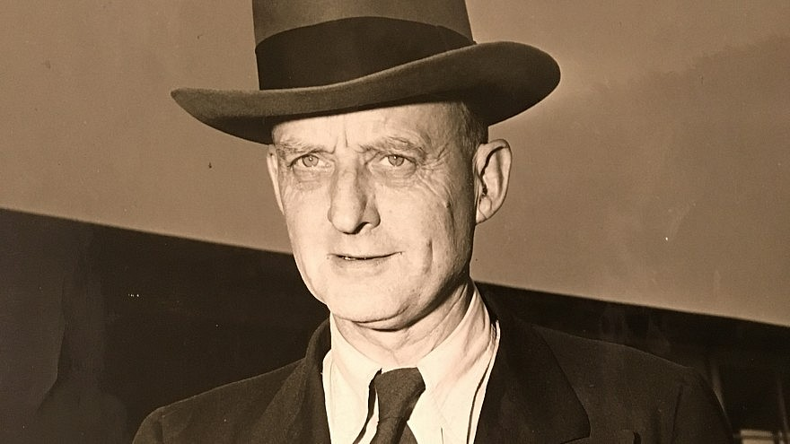 Reinhold Niebuhr. Photo courtesy of Union Theological Seminary Archives.