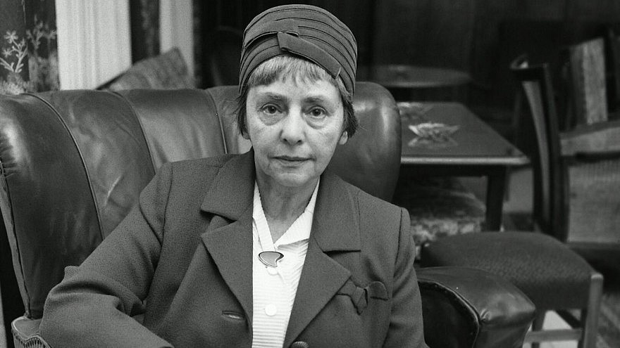 Marie Syrkin, photo courtesy of the Central Zionist Archives in Jerusalem.