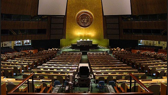 U.N. General Assembly. (Wikimedia Commons)