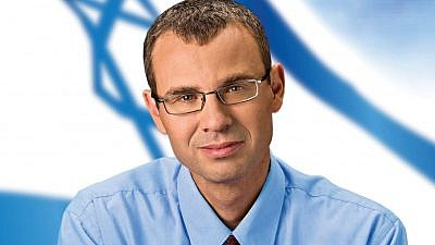 Israel's Minister of Tourism Yariv Levin. Credit: Wikimedia Commons.