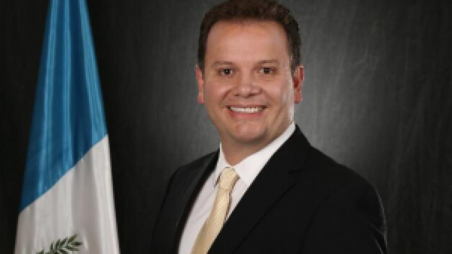Manuel Alfredo Espina Pinto, Guatemala Ambassador to the United States