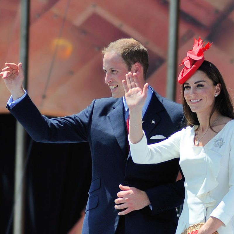 Prince William and Kate Middleton in 2011. William is scheduled to visit Israel in June. Credit: Tsaiproject via Flickr.