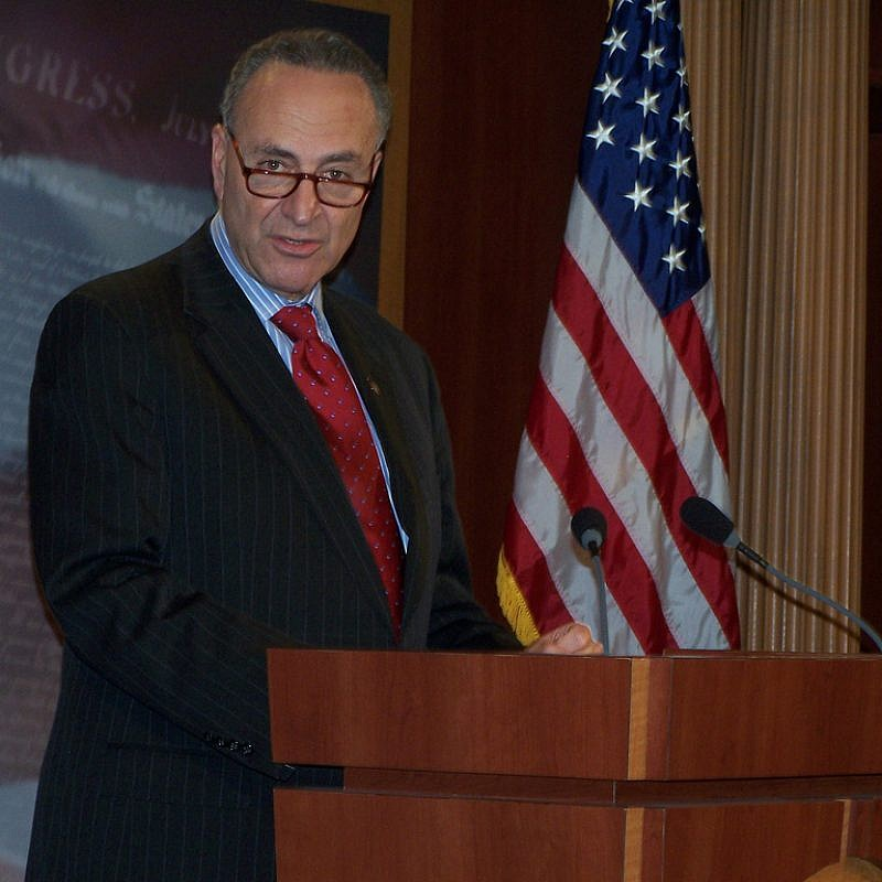 "U.S. Senate Minority Leader Chuck Schumer (D-N.Y.) says he will do ""everything in his power"" to ensure the passage of the Taylor Force Act. Credit: Office of Senator Schumer."