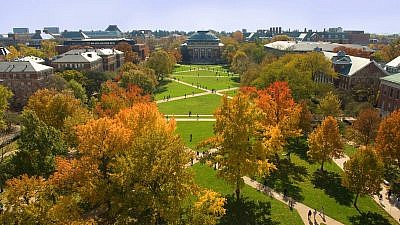 The campus of the University of Illinois at Urbana-Champaign. Credit: University of Illinois at Urbana-Champaign.