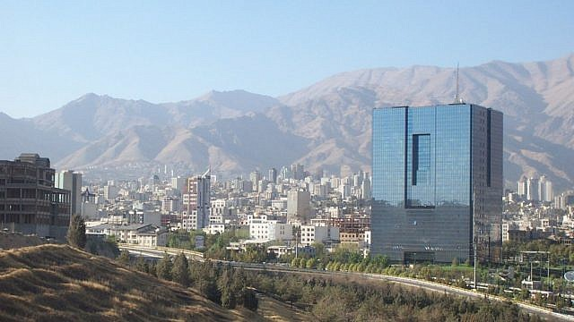 The Iranian Central Bank in Tehran. Credit: SA Ensie & Matthias, Flickr.