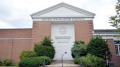 Heights Jewish Center Synagogue in University Heights.  A 23-year-old Cleveland man was arrested on April 17 for making threatening and anti-Semitic phone calls to the Heights Jewish Center Synagogue as well as other Jewish institutions in Ohio. Credit: Ed Wittenberg via Cleveland Jewish News.