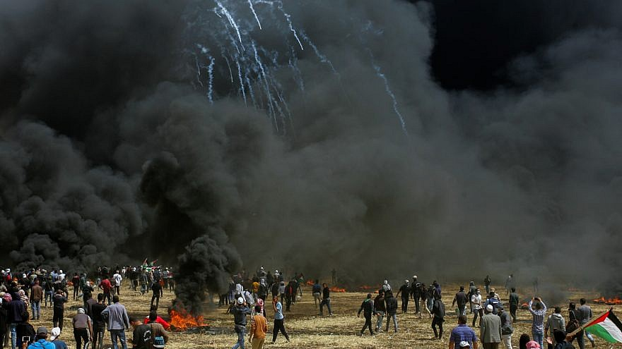 Israel Targets Gaza After Border Blast