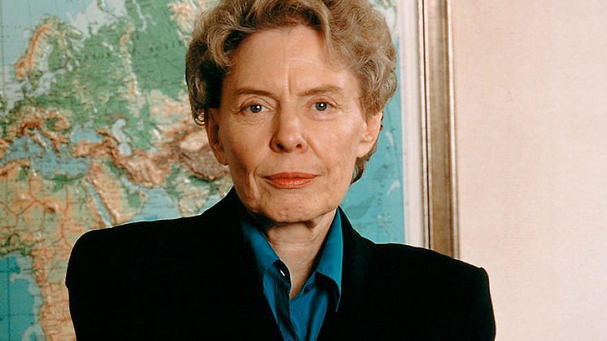Diplomat Jeane Kirkpatrick. (Wikimedia Commons)