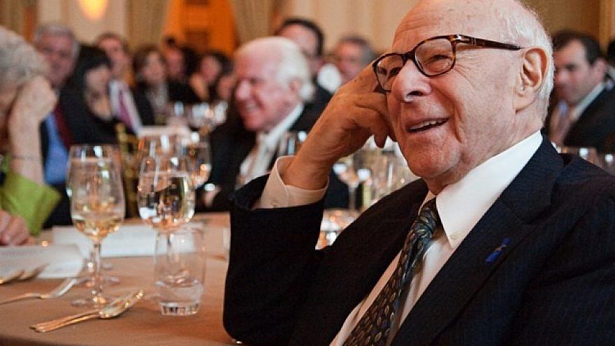 Norman Podhoretz. Photo by Sarah Merians/Courtesy of Commentary Inc.