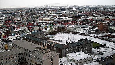 Reykjavik, Iceland. (Credit: Jóhann Heiðar Árnason via Wikimedia Commons)