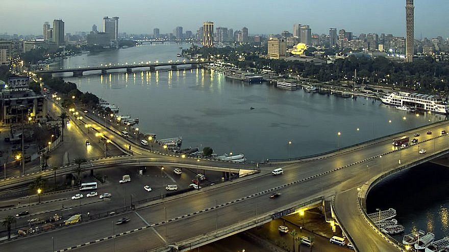 Cairo, view of the Nile River in 2011, the year of the Arab Spring. Credit: Dan Lundberg via Wikimedia Commons.